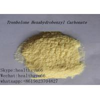 China CAS 23454-33-3 Healthy Parabolan Nandrolone Steroid Tren Hexahydrobenzylcarbonate Yellow Powder on sale