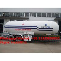 Factory sale best price 40m3 bulk propane gas trailer, HOT SALE! 40,000Liters road transported lpg gas transported tank Manufactures