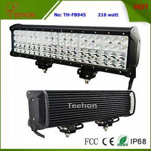 216 Watt 17 Inch CREE Quad Row off-Road LED Light Bar for Trucks Manufactures