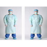 Non Toxic Disposable Medical Isolation Gowns Comfortable For Cross Infection Prevention Manufactures