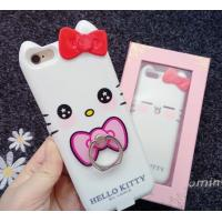 Iphone 7 Apple Phone Power Bank Case  Hello Kitty With Ring Holder 4000 Mah Manufactures