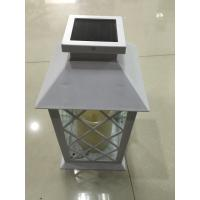 Outdoor Solar Powered LED Candle Lamp Cool White 6000K - 6500K Manufactures