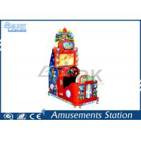 1 Player Amusement Racing Game Machine with HD LCD Display / Stereo System Manufactures