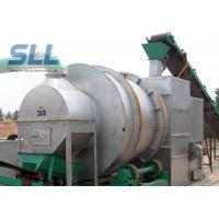 Professional Rotary Drum Dryer Machine Silica Sand Dryer 10-40t/H Capacity Manufactures