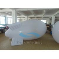 Promotion 0.18mm PVC Advertising Zeppelin With Customized Logo Printing Manufactures