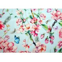 Anti - Cracking Inkjet Cotton Canvas Custom Printing Beautiful Pattern Manufactures