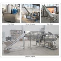 Quality Dog Food Production Machine , 500 - 600kg/Hr Pet Food Processing Line for sale