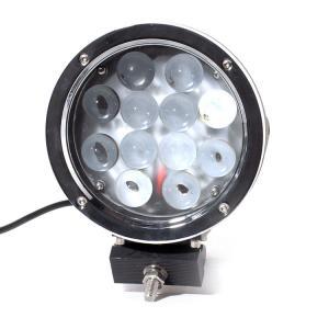 Super Bright 7 Inch 6000k White 12v / 24v Led Car Lights 60w Led Offroad Work Light Manufactures