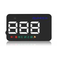 High Compatibility 3.5 Inch A5 Vehicle Heads Up Display Speedometer Overspeed Alarm Manufactures