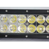 Buy cheap 36W 60W Vehicle Off Road LED Light Bar With Epistar Chips 12v  24v 7.5Inch 12 LED Worl Light from wholesalers