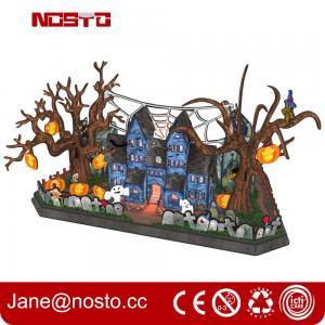 3d Halloween Wall Decor, 3D Paper Wall Art, Halloween Decor 3D puzzle Castle Manufactures