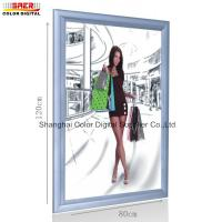 Quality Snap Frame Led Light Box / Movie Poster Frames Light Box Advertising Displays for sale