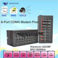 8 port modem pool (MODULE Q24plus) with USB (850/900./1800/1900Mhz) Manufactures