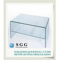 China Glass Computer Desk (round,oval,square,rectangle) on sale