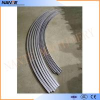 Curved C Track Festoon System with Accessories / Festoon Cable Trolley System Manufactures