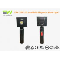 Waterproof 10 Watts Rechargeable Handheld Led Work Light With Magnet Base Manufactures