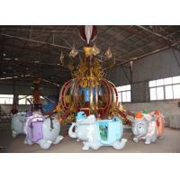Flying Elephant Shape Flying Chair Ride With Environmental Protection Paint Manufactures