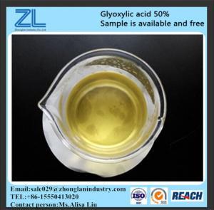 glyoxylic acid 50% /glyoxylic acid liquid,CAS NO.:298-12-4 Manufactures