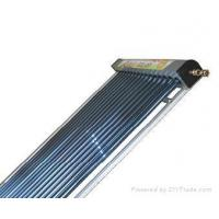 heat pipe solar water heating(SECC,CE,SOLAR KEYMARK) Manufactures