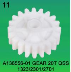 A136556-01 GEAR TEETH-20 FOR NORITSU qss1923,2301,2701 minilab Manufactures