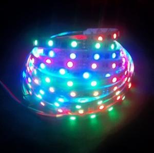 RGB Digital magic dream color flexible led strip light Manufactures