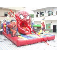Inflatable Spiderman Bouncy Castle Inflatable Jumping Castles Play Equipment for Children Manufactures