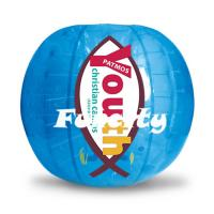 Tpu Material Human Size Soccer Inflatable Bumper Ball Fire - Retardant Manufactures