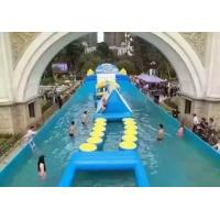 Customized 0.9MM Inflatable Sports Games Inflatable Water Parks Toys For Kids Manufactures