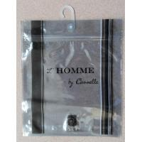 Anti Static Aluminium Foil Bag With Plastic Hook For Underwear / Shorts Manufactures