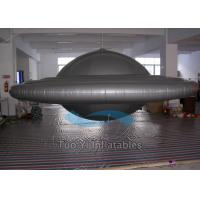 Awsome UFO Fly Helium Balloons , Street Fair Custom Printed Helium Balloons Manufactures