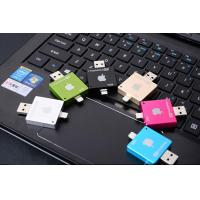 Quality Compact iPad Phone USB Flash Drive 64GB Square OTG With High Speed for sale