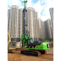 TYSIM KR150C Rotary Piling Rig , Pile Driving Machinery With Rotation Speed 7~26 rpm Manufactures