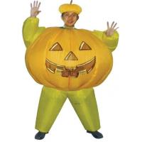 Yellow Fireproof PVC Adult Hallowee Inflatable Costumes For Holiday Celebration Manufactures
