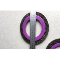 Textile Machinery Stenter Brushes Roll Cotton Spindle Nylon Bristle Aluminum Body