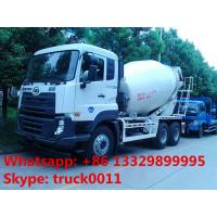 Quality best quality factory supply 6*4 12m3 Japan brand UD  cement mixing truck, hot sale UD brand cement mxier truck for sale