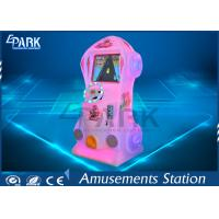 200W Dynamic Race Car Arcade Machine Coin Operated For Kids L600 * W600 * H1500 MM Manufactures
