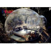 0.8MM Pvc Anti Clod Clear Dome Tent Transparent Bubble Tent Camping