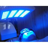 PDT LED Light Therapy Machine For Wrinkle Reduction , Anti Aging Facial Light Therapy Devices Manufactures