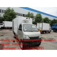 Changan refrigerated truck,Super Mini 1 ton refrigerated box van truck Manufactures