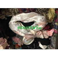 Female Second Hand Scarves / Used Scarves Silk Material For Southeast Asia Manufactures