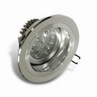 LED Downlight with 100 to 240V AC Voltage, 350mA Current and 640lm Luminous Flux Manufactures