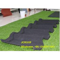 Waterproof  Stone Coated Steel Roof Tiles For Building Roof Construction Manufactures