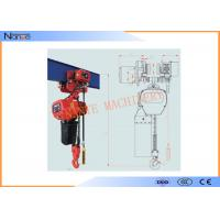 Single Phase IP54 / IP55 10 Ton Electric Chain Hoist Can Use In Rain Sea Chemicals Manufactures