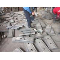 Casting Soundness Cr26 White Iron Shell Mill Liners With More Than HRC56 Hardness And AK10J Manufactures