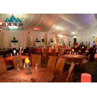 UV Resistant Outside Event Tents For Trade Show And Festivals Celebration Manufactures