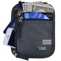 Anti Theft Waterproof RFID Concealed Travel Bag With Passport Holder Manufactures