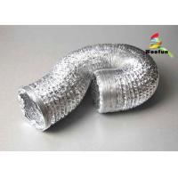Flame Resistant Single or Double Layer Aluminum Flexible Duct for HVAC Systems Manufactures