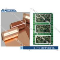 Single Shiny Heavy ED PCB Copper Foil 1/4OZ ~ 3OZ 1295mm×1295mm Manufactures