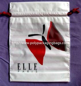 White Drawstring Plastic Bags Manufactures