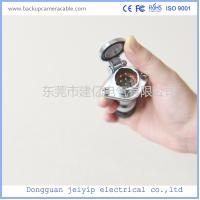 Bus Backup Camera Cable , Trailer Extension Backup Camera Video Cable Manufactures